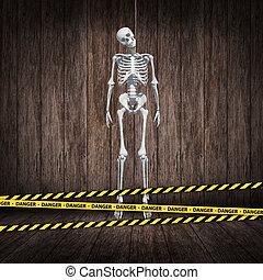 skelett, hangman's