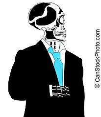 skelett, klage