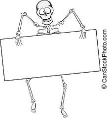 skelett, kompis