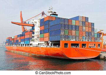 Skepp, behållare