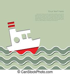 skepp kryssning, ocean