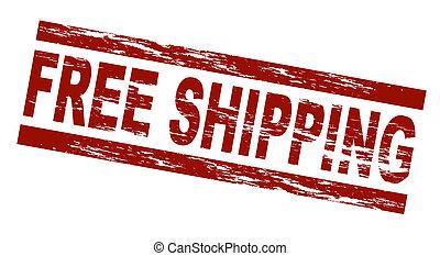 skeppning, stämpel, -, gratis