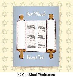 Sketch Bar Mitzvah poster