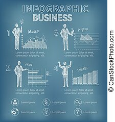 Sketch Business Infographics