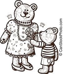 Mama Bear Clip Art And Stock Illustrations 123 Mama Bear