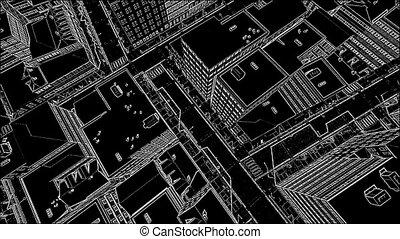 Abstract architecture background blueprint house plan with sketch sketch city abstract architectural background malvernweather Choice Image