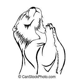 Sketch design of illustration beaver
