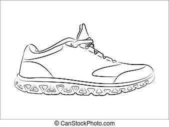 Sketch doodle sneakers for your creativity