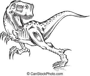 Tyrannosaurus Rex Dinosaur T-Rex