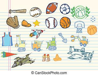 Sketch Doodle Vector Illustration