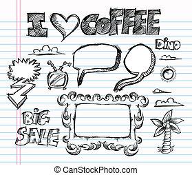 Sketch Doodle Vector Illustration A