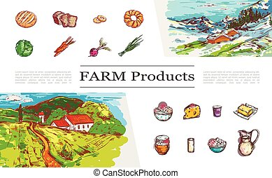 Sketch Farm Products Collection