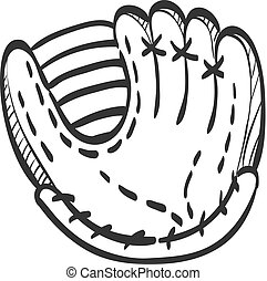 Sketch icon - Baseball glove