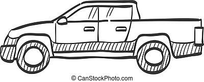 Sketch icon - Car