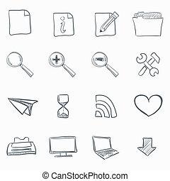 Sketch Icon Set