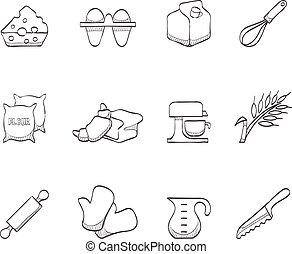 Sketch Icons - Baking