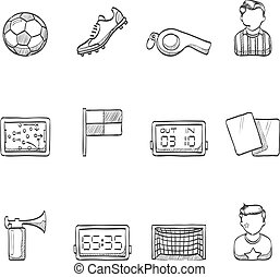 Sketch Icons - Soccer