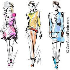 sketch., mode, models.