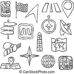 sketch navigation images