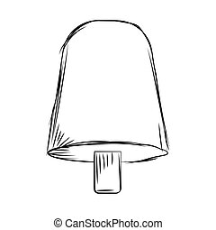 Sketch of a popsicle