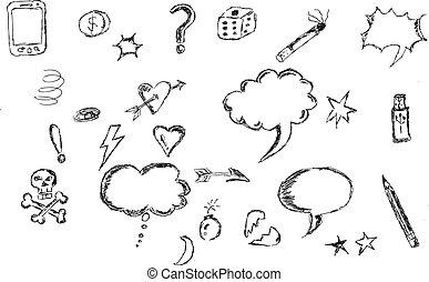 Sketch of Bubble Talk