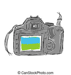 Sketch of camera for your design
