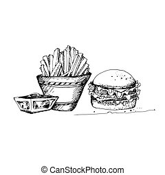 Sketch of Food