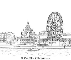 Sketch of Helsinki