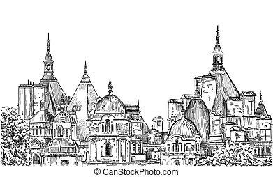 Sketch of London