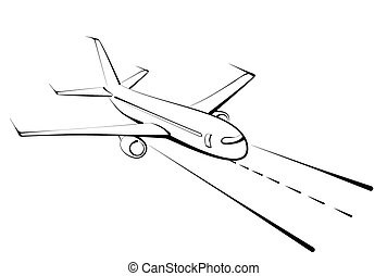 Sketch of the big plane.