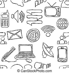 sketch seamless communication pattern