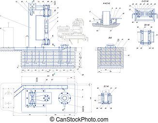 base unit - Sketch. The base unit. EPS 10