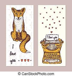Sketch Valentine posters