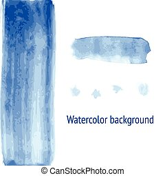 Sketch watercolor background in vintage style