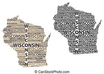 Wisconsin map