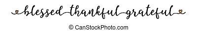 sketched, カード, announcement.., 祝福された, 手, ヘッダー, ありがたく思っている, 感謝している, ラベル, レタリング, フライヤ, ステッカー, ポスター, banner., 広告, 引用