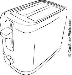 Sketched Toaster