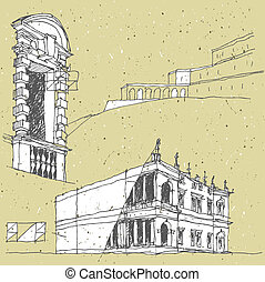 Sketching Historical Architecture in Italy: Florence, ...