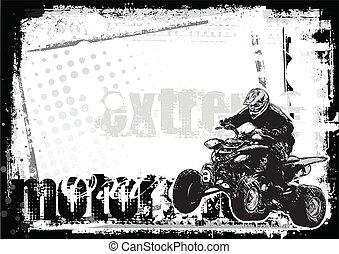 motor sport background