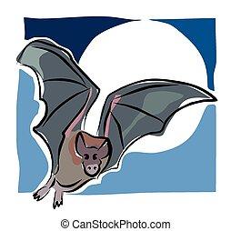 Sketchy bat