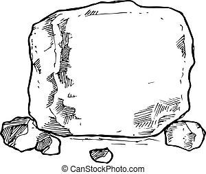 sketchy, roccia