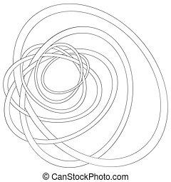 Sketchy vector hand drawn doodles, zen tangle, zen art patterns
