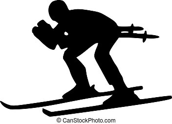 ski, descendant