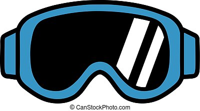 Ski Goggle Pictogram