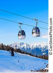 Ski in Austria.