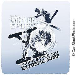 ski jump winter sport