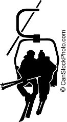 Ski Lift People