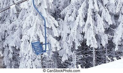 Ski lift - Rotating part of ski rope tow