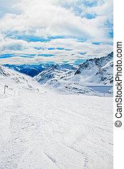 Ski resort in Austria.