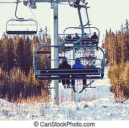 Ski resort - ski resort